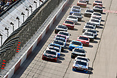 #2: Tyler Reddick, Richard Childress Racing, Chevrolet Camaro myblu and #20: Christopher Bell, Joe Gibbs Racing, Toyota Supra McCall's Supply Ruud