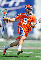 23 August 2008: Philadelphia Barrage Midfielder Matt Striebel in action against the Rochester Rattlers during the Semi-Finals of the Major League Lacrosse Championship Weekend at Harvard Stadium in Boston, MA. The Rattlers defeated the Barrage 16-15 in sudden death overtime, advancing to the upcoming Championship Game...Mandatory Photo Credit: Ed Wolfstein Photo
