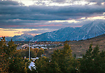 Skyline in Carson City, Nev., on Wednesday, Nov. 5, 2015. <br /> Photo by Cathleen Allison