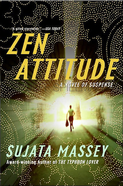 ZEN ATTITUDE - A Novel of Suspense, by Sujata Massey (The second title in the Rei Shimura Series)<br /> <br /> Trade Paperback Edition<br /> Published November 2005<br /> Harper - An Imprint of Harper Collins Publishers<br /> Cover Design: Todd Robertson<br /> <br /> Photo of a Woman Running Thru a Tunnel Available from Getty Images.  Please go to www.gettyimages.com and search for image # 10173597.
