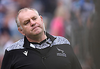 25th September 2021; The Recreation Ground, Bath, Somerset, England; Gallagher Premiership Rugby, Bath versus Newcastle Falcons; Dean Richards Director of Rugby for Newcastle Falcons looks pleased with his teams performance at half time