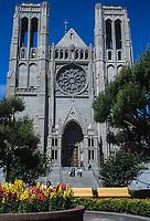 San Francisco, California, USA. Grace Cathedral, Episcopal.