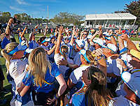 6th September 2021: Toledo, Ohio, USA;  Team Europe celebrates winning the Solheim Cup on September 6, 2021 at Inverness Club in Toledo, Ohio.