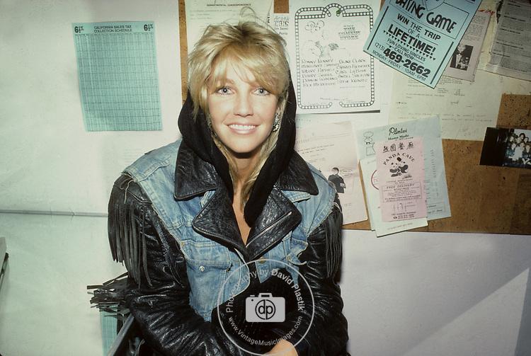Heather Locklear 1987 in Hollywood