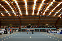 2019 Wellington Tennis Open finals opening ceremony at Renouf Centre in Wellington, New Zealand on Sunday, 22 December 2019. Photo: Dave Lintott / lintottphoto.co.nz