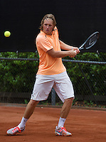 10-08-13, Netherlands, Rotterdam,  TV Victoria, Tennis, NJK 2013, National Junior Tennis Championships 2013,  Jelle Sels winner boys 18 years<br /> <br /> Photo: Henk Koster