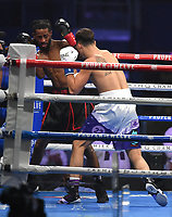 ARLINGTON, TX - DECEMBER 5: Vito Mielnicki and Steven Pulluaim during their fight on Fox Sports PBC Pay-Per-View fight night at AT&T Stadium in Arlington, Texas on December 5, 2020. (Photo by Frank Micelotta/Fox Sports)