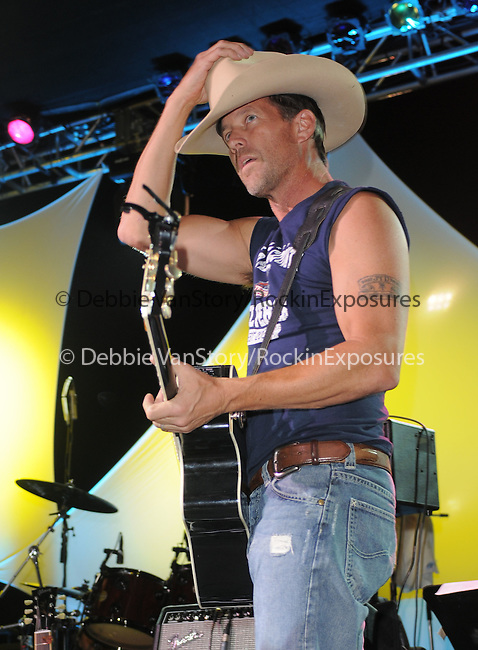 James Denton at The 2nd Annual Band From TV Night at The Orange County Flyers Baseball Game held at Titan Stadium in Fullerton, California on July 26,2008                                                                     Copyright 2008 Debbie VanStory/RockinExposures
