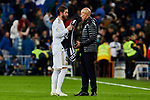 Sergio Ramos of Real Madrid after La Liga match between Real Madrid and Real Betis Balompie at Santiago Bernabeu Stadium in Madrid, Spain. November 02, 2019. (ALTERPHOTOS/A. Perez Meca)
