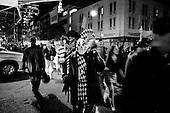 New York, New York.USA.October 31, 2006..Halloween parade in New York city.