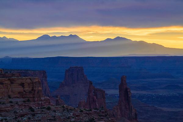 Mesa Arch overlook, Canyonlands National Park, Utah,