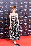 Natalia Verbeke attends the red carpet previous to Goya Awards 2021 Gala in Malaga . March 06, 2021. (Alterphotos/Francis González)