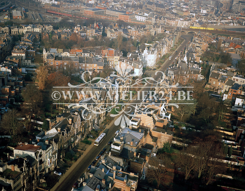 December 1995. Cogels-Osylei in Antwerpen.