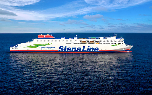 Stena Line E Flexer launched in China