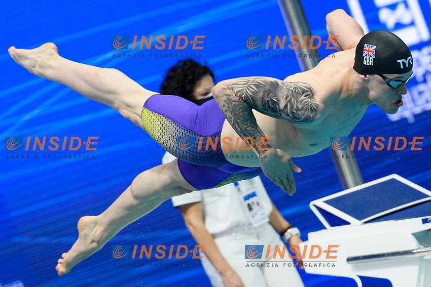 HARDS Matthew GBR Great Britain<br /> 200m Freestyle Men Preliminary<br /> Swimming<br /> Budapest  - Hungary  19/5/2021<br /> Duna Arena<br /> XXXV LEN European Aquatic Championships<br /> Photo Giorgio Perottino / Deepbluemedia / Insidefoto