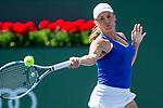 March 09, 2018: Yulia Putintseva (KAZ) defeated by Petra Kvitova (CZE) 6-7 (4), 7-6 (3), 6-4 at the BNP Paribas Open played at the Indian Wells Tennis Garden in Indian Wells, California. ©Mal Taam/TennisClix/CSM