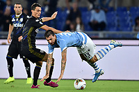 Roberto Inglese of Parma , Francesco Acerbi of SS Lazio <br /> Roma 22-9-2019 Stadio Olimpico <br /> Football Serie A 2019/2020 <br /> SS Lazio - Parma Calcio <br /> Foto Andrea Staccioli / Insidefoto