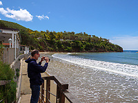 Spiaggia Grande am Golfo delle Lacona, Elba, Region Toskana, Provinz Livorno, Italien, Europa<br />  Beach Spiaggia Grande at Golfo delle Lacona, Elba, Region Tuscany, Province Livorno, Italy, Europe