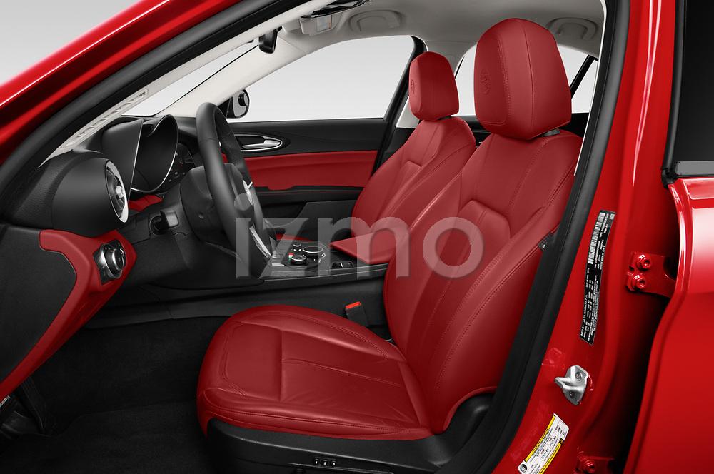 Front seat view of a 2019 Alfa Romeo Giulia - 4 Door Sedan