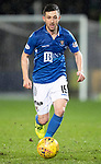St Johnstone v Celtic…..29.01.20   McDiarmid Park   SPFL<br />Jason Holt<br />Picture by Graeme Hart.<br />Copyright Perthshire Picture Agency<br />Tel: 01738 623350  Mobile: 07990 594431