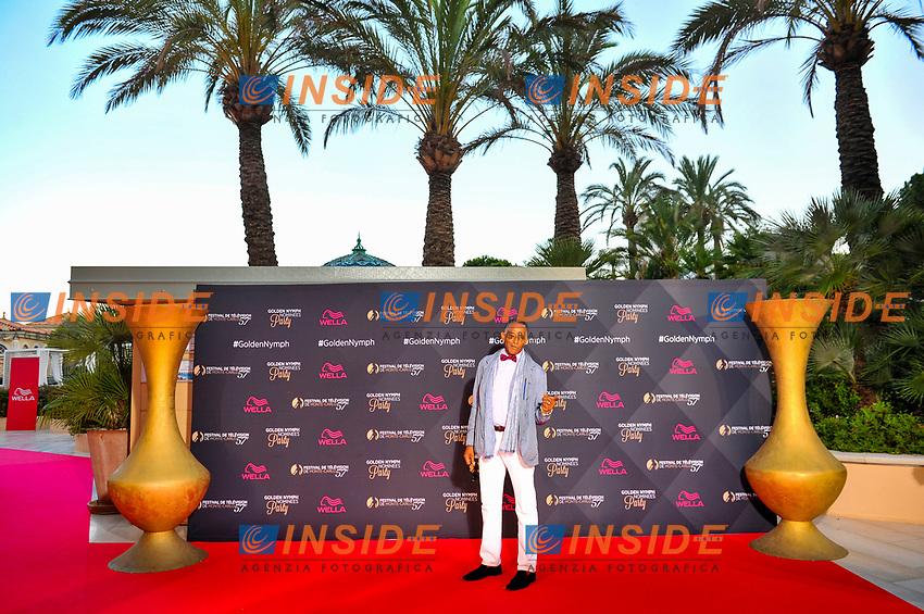 Antonio Fargas (Starsky et Hutch) - (Cherif)<br /> Monaco - 20/06/2017<br /> 57 festival TV Monte Carlo <br /> Foto Norbert Scanella / Panoramic / Insidefoto