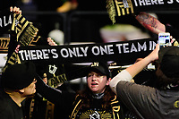 Philadelphia, PA - Friday January 19, 2018: LAFC fans during the 2018 MLS SuperDraft at the Pennsylvania Convention Center.