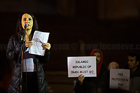 """Iranian citizen.<br /> <br /> Rome, 25/01/2020. Today, Rete della Pace – supported by numerous organizations, including CGIL, ANPI and Libera – held a demonstration for Peace in Piazza dell'Esquilino called """"Spegniamo La Guerra, Accendiamo La Pace"""" (Let's turn off the war, let's turn on Peace, 1.).<br /> <br /> Footnotes & Links:<br /> 1. http://bit.do/fqxs9"""