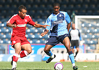 Gavin Grant of Wycombe Wanderers, former Gillingham and Millwall player, in action during Wycombe Wanderers vs Southend United, Friendly Match Football at Adams Park on 2nd August 2008