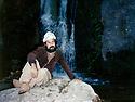Iraq 1987 <br /> In Armicht valley, near Zakho, Nechirvan Ahmed, peshmerga  <br /> Irak 1987 <br /> Dans la vallee d'Armicht, pres de Zakho, Nechirvan Ahmed , peshmerga