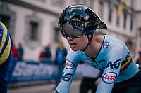 Senne Leysen (BEL)<br /> <br /> MEN UNDER 23 INDIVIDUAL TIME TRIAL<br /> Hall-Wattens to Innsbruck: 27.8 km<br /> <br /> UCI 2018 Road World Championships<br /> Innsbruck - Tirol / Austria