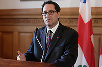 February 2013 File Photo -  Michael Applebaum, Mayor of Montreal, who has been arrested and accused of corruption.