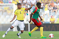 Colombia's Wilmar Barrios (l) and Cameroon's Olivier Boumal during international friendly match. June 13,2017.(ALTERPHOTOS/Acero) (NortePhoto.com) (NortePhoto.com)