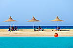 EGY, Aegypten, Hurghada: Coral Beach Hotel, Strand | EGY, Egypt, Hurghada: Coral Beach Hotel, beach