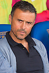 Coach Luis Enrique Martinez (c) of FC Barcelona looks on during their La Liga match between Deportivo Leganes and FC Barcelona at the Butarque Municipal Stadium on 17 September 2016 in Madrid, Spain. Photo by Diego Gonzalez Souto / Power Sport Images
