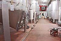 Fermentation tanks. Kir-Yianni Winery, Yianakohori, Naoussa, Macedonia, Greece