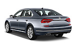 Car pictures of rear three quarter view of 2016 Volkswagen Passat 3.6L-SEL-Premium-Auto 4 Door Sedan Angular Rear