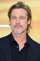 """LONDON, UK. July 30, 2019: Brad Pitt at the UK premiere for """"Once Upon A Time In Hollywood"""" in Leicester Square, London.<br /> Picture: Steve Vas/Featureflash"""