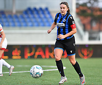 Ellen Martens (2 Brugge) pictured during a female soccer game between Club Brugge Dames YLA and Oud Heverlee Leuven on the 8 th matchday of the 2020 - 2021 season of Belgian Scooore Womens Super League , saturday 21 th November 2020  in Knokke , Belgium . PHOTO SPORTPIX.BE | SPP | DAVID CATRY