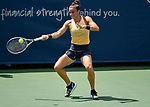 August  15, 2019:  Maria Sakkari (GRE) defeated Aryna Sabalenka (BLR) 6-7, 6-4, 6-4, at the Western & Southern Open being played at Lindner Family Tennis Center in Mason, Ohio. ©Leslie Billman/Tennisclix/CSM