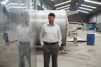 Ashu Sennik, managing director of Desbro Engineering, a leading fabricator of stainless steel products for industry in Kenya.