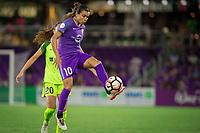 Orlando, FL - Thursday September 07, 2017: Marta Vieira Da Silva during a regular season National Women's Soccer League (NWSL) match between the Orlando Pride and the Seattle Reign FC at Orlando City Stadium.