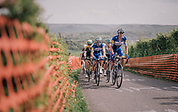 Team Quickstep Floors leading up La Redoute<br /> <br /> 104th Liège - Bastogne - Liège 2018 (1.UWT)<br /> 1 Day Race: Liège - Ans (258km)