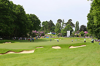 The 3rd fairway and green at Wentworth during the BMW PGA Golf Championship at Wentworth Golf Course, Wentworth Drive, Virginia Water, England on 28 May 2017. Photo by Steve McCarthy/PRiME Media Images.