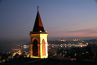 VIEW OVER SAINT ANTHONY'S CATHOLIC CHURCH, ISTANBUL, TURKEY