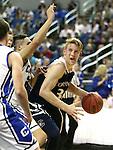 Coronado's Kennedy Koehler looks to shoot against Carson during the NIAA Division I state basketball tournament in Reno, Nev. on Thursday, Feb. 25, 2016. Cathleen Allison/Las Vegas Review-Journal