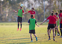 Carson, CA - August 22, 2016: The  U.S. Paralympic National Team trains in preparation for the 2016 Rio Paralympic Games at StubHub Center.