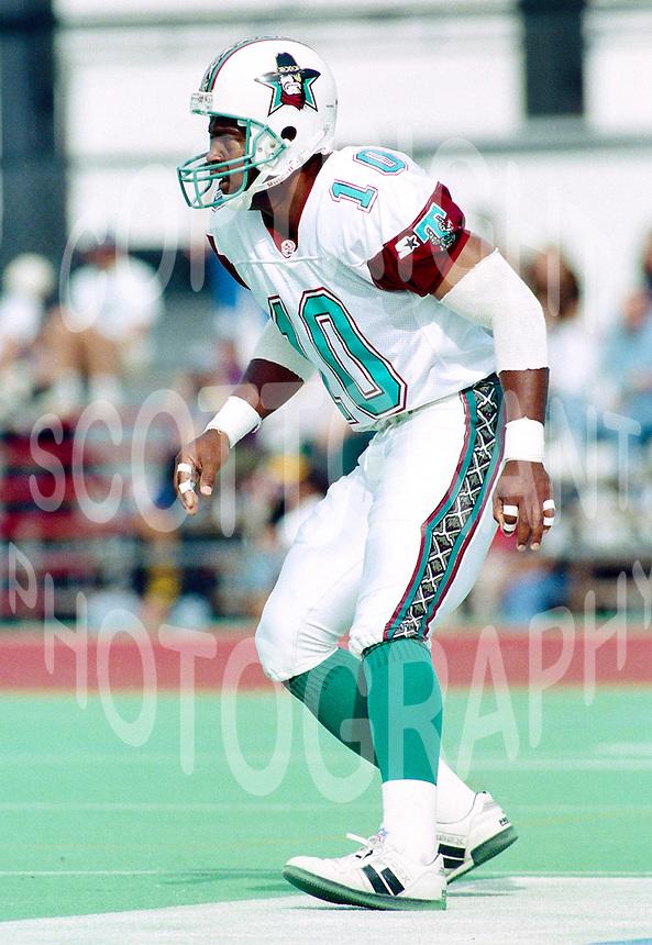 Malcolm Frank San Antonio Texans 1995. Photo F. Scott Grant