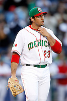Adrian Gonzalez of Mexico during the World Baseball Championships at Angel Stadium in Anaheim,California on March 16, 2006. Photo by Larry Goren/Four Seam Images