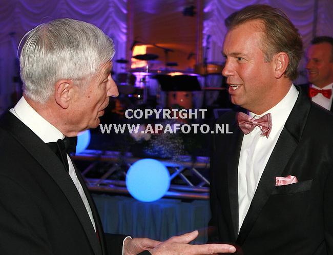 molenhoek 200506 Rainbowgala<br /> Dries van Agt en Marcel Boekhoorn<br /> <br /> foto frans ypma APA/foto