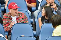 Rick Karsdorp Roma and his girlfriend Astrid Bella <br /> Roma 23-09-2017 Stadio Olimpico Calcio Serie A 2017/2018 AS Roma - Udinese Foto Andrea Staccioli / Insidefoto